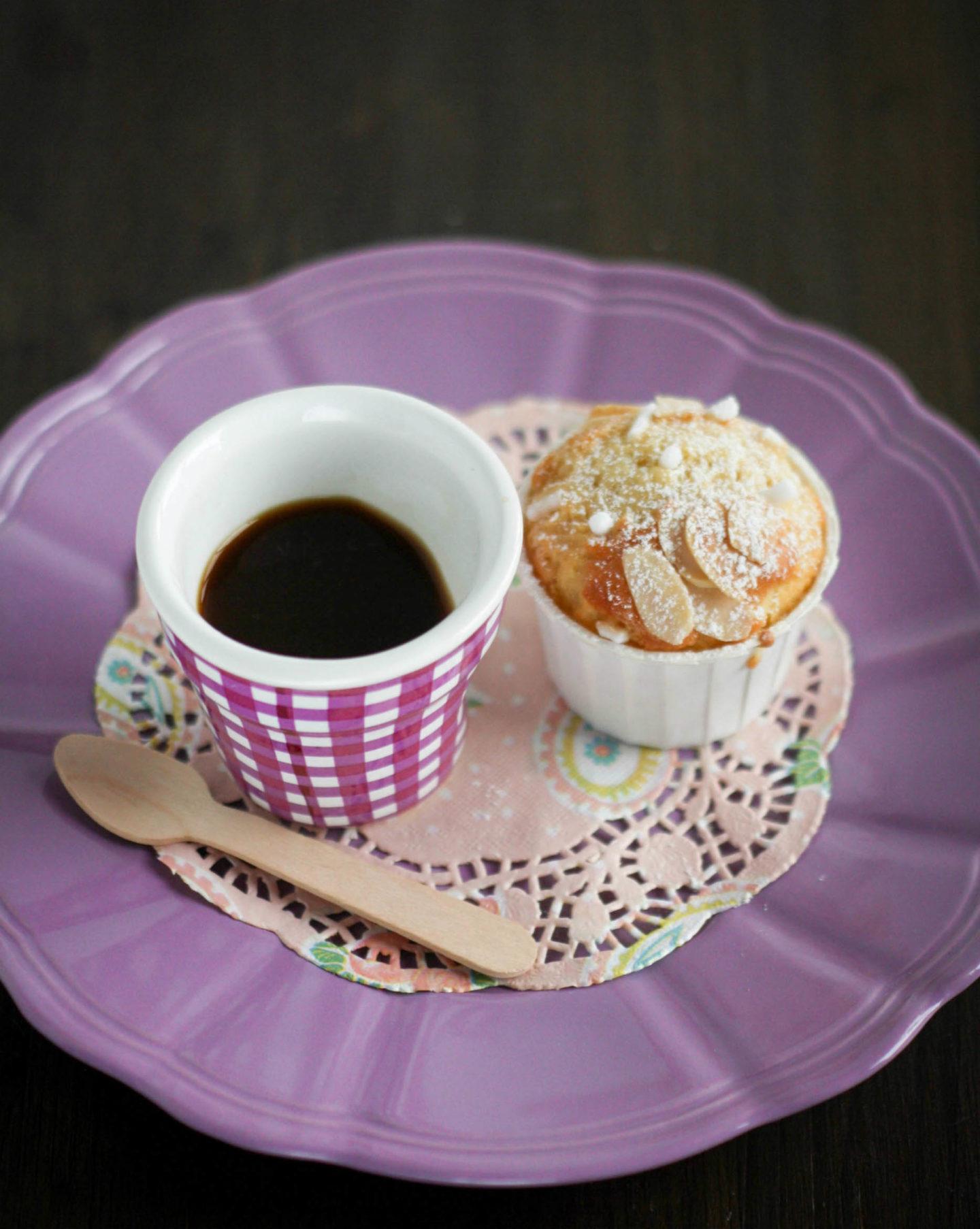 Muffin con cuore di marmellata