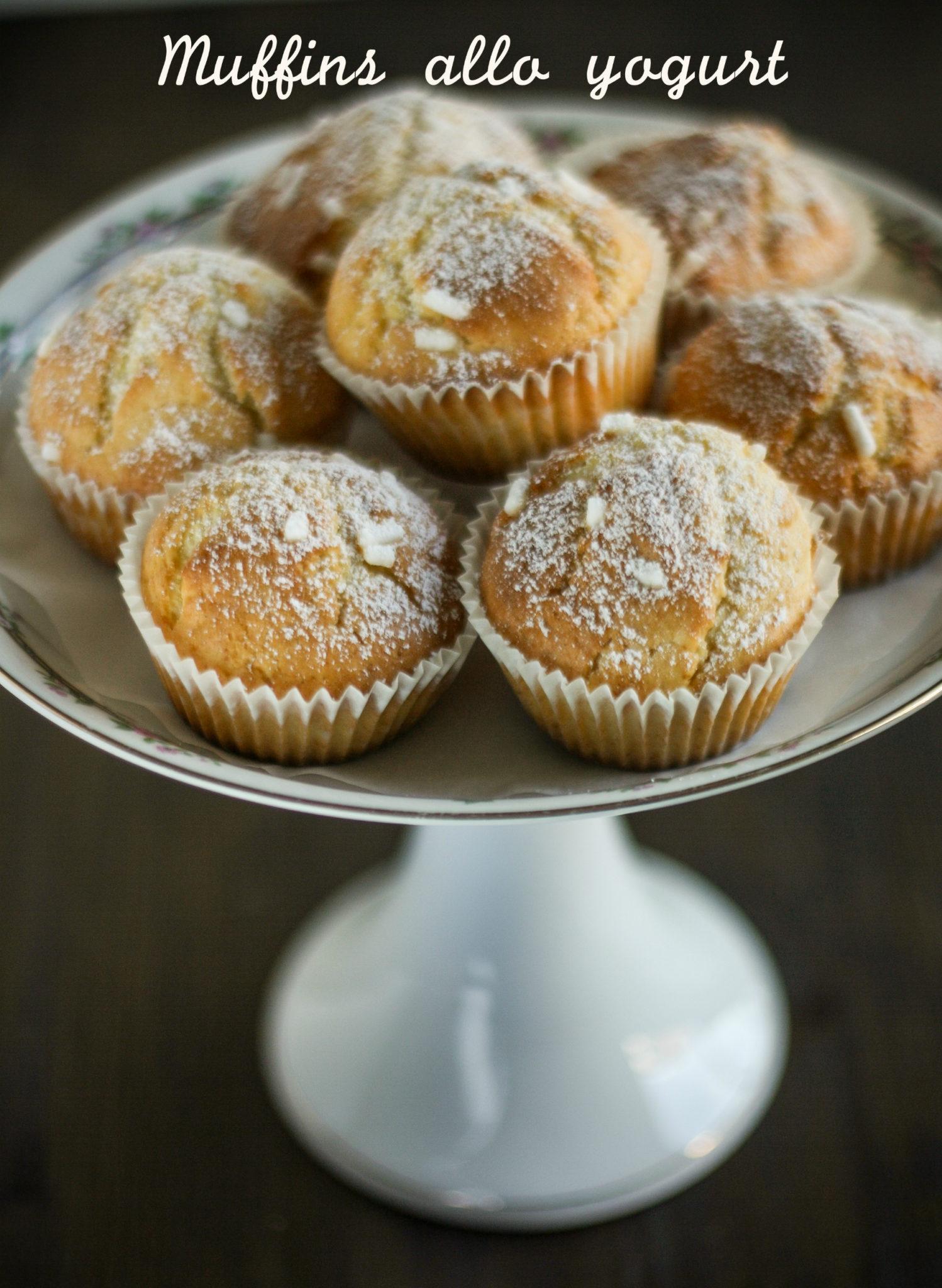 Muffins allo yogurt zucchero sale for Cucinare yogurt greco