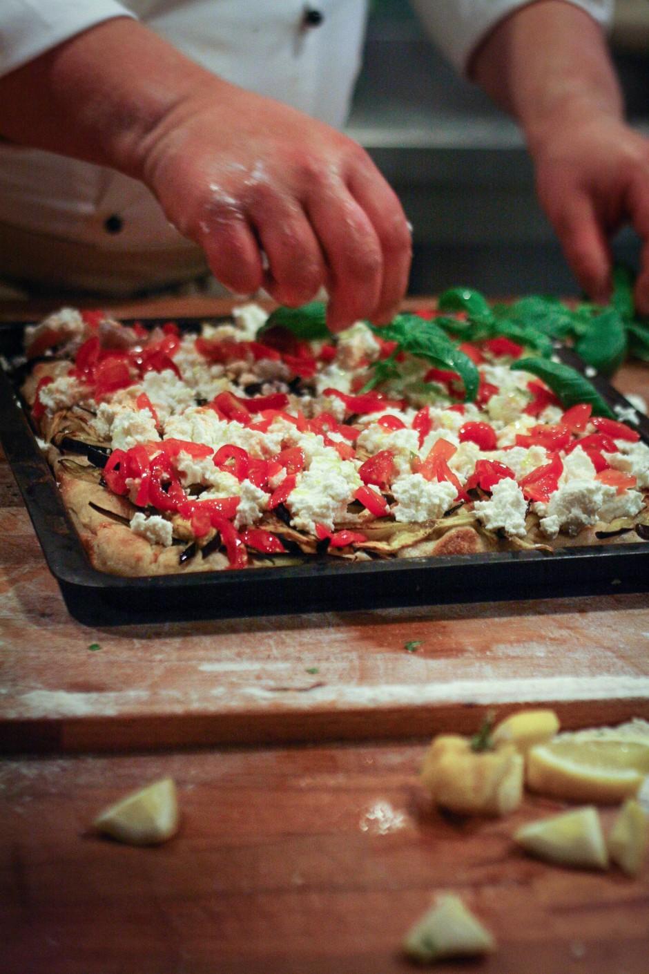 corso di pizza con Bonci
