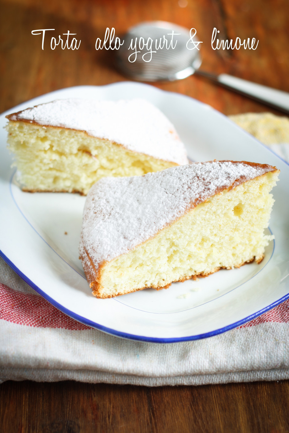 torta allo yogurt e limone