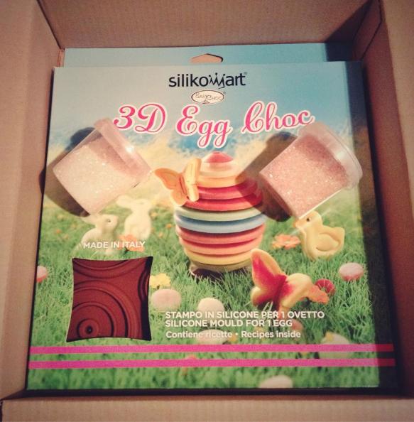stampo silikomart Uovo di cioccolato fatto in casa