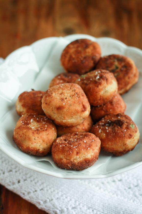 polpette di patate e salmone affumicato