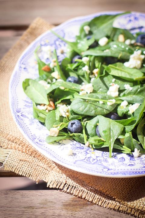 insalata di spinacini