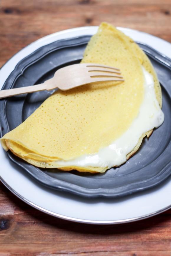 crepes al formaggio