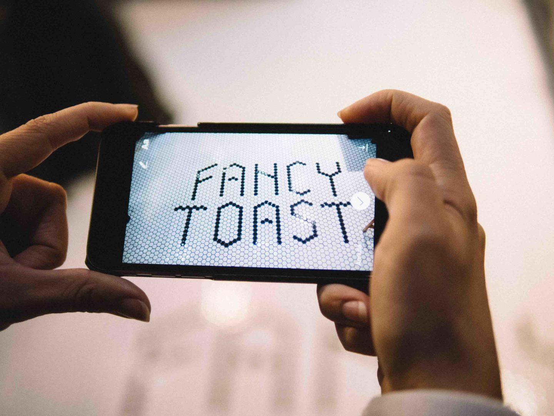 I toast in stile californiano a Milano da FancyToast
