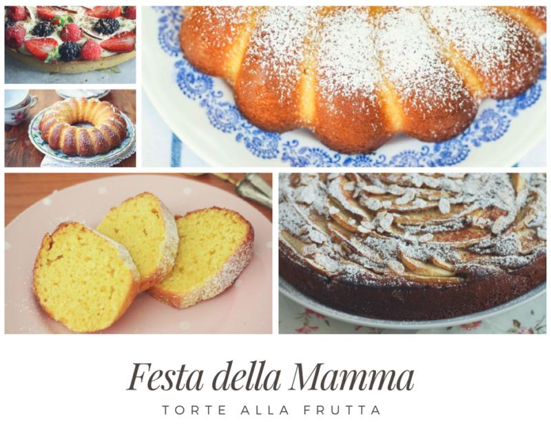 festa della mamma: torte alla frutta