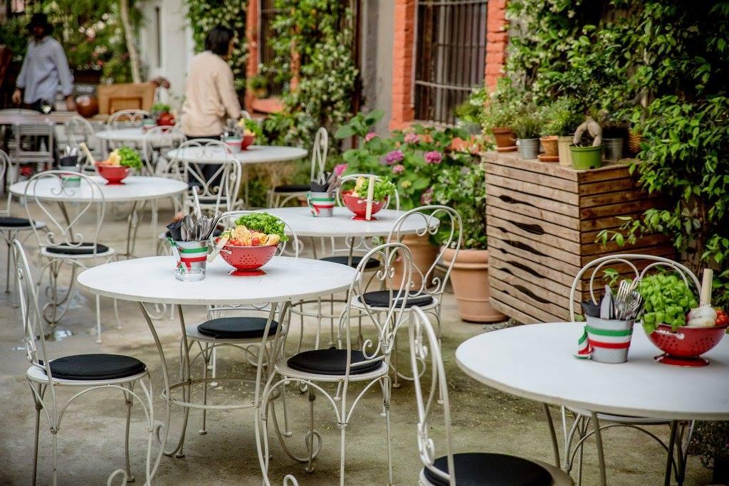 Cena a Milano da Al Cortile