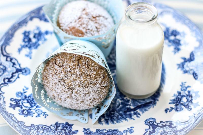 muffin senza glutine con cioccolato