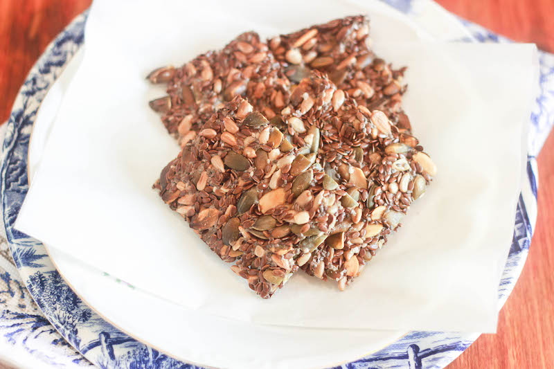 Cracker ai semi senza glutine