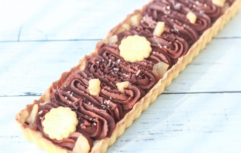 crostata pere e cioccolato facile
