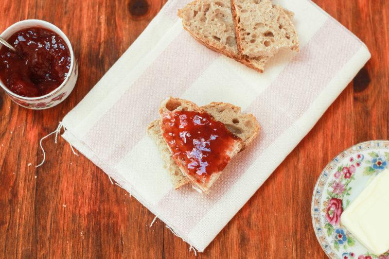 pane fatto in casa con lievito madre liquido