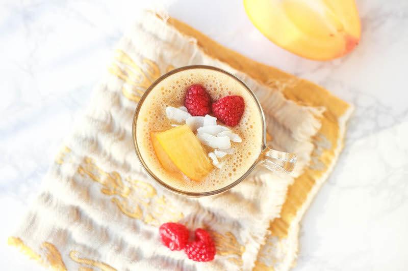 smoothie ai cachi ideale per colazione