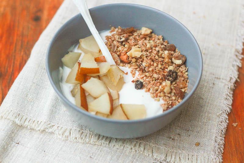 muesli di grano saraceno senza glutine e senza zucchero