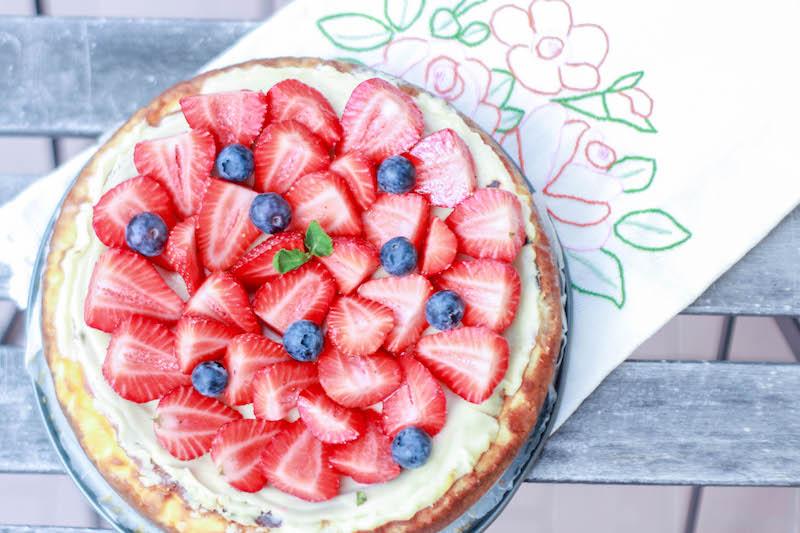 New York style cheesecake ricetta