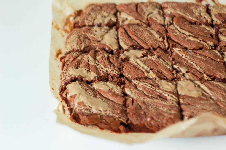 brownie al cioccolato e tahina Ottolenghi