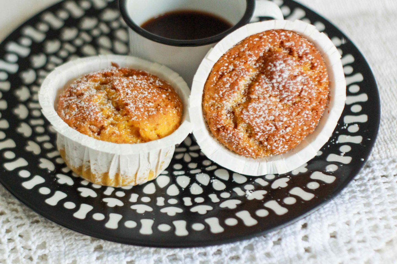 muffin zucca e amaretti morbidissimi