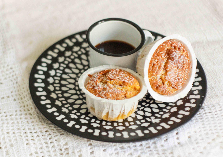muffin zucca e amaretti velocissimi