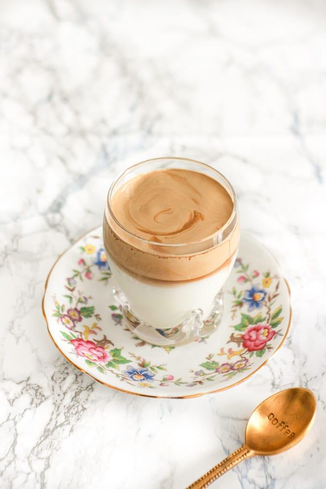 ricetta dalgona coffee