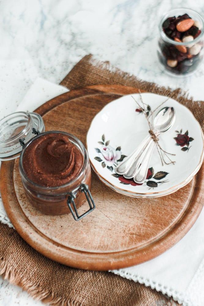 hummus al cioccolato fatto in casa