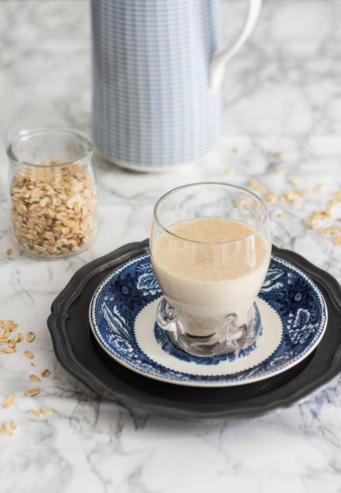ricetta latte d'avena fatto in casa