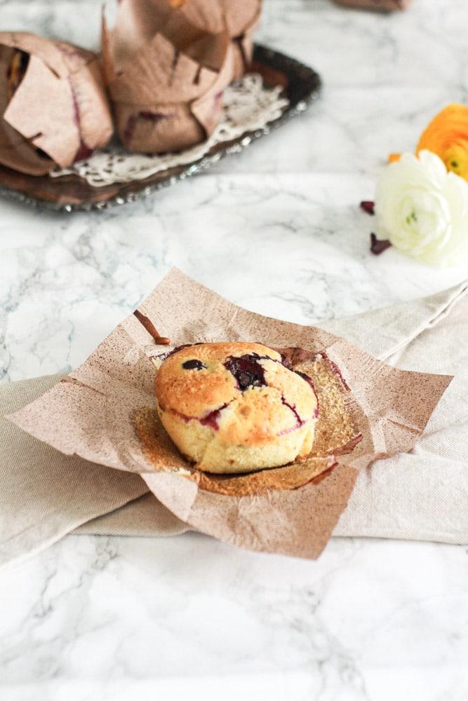 ricetta muffin ai mirtilli fatti in casa