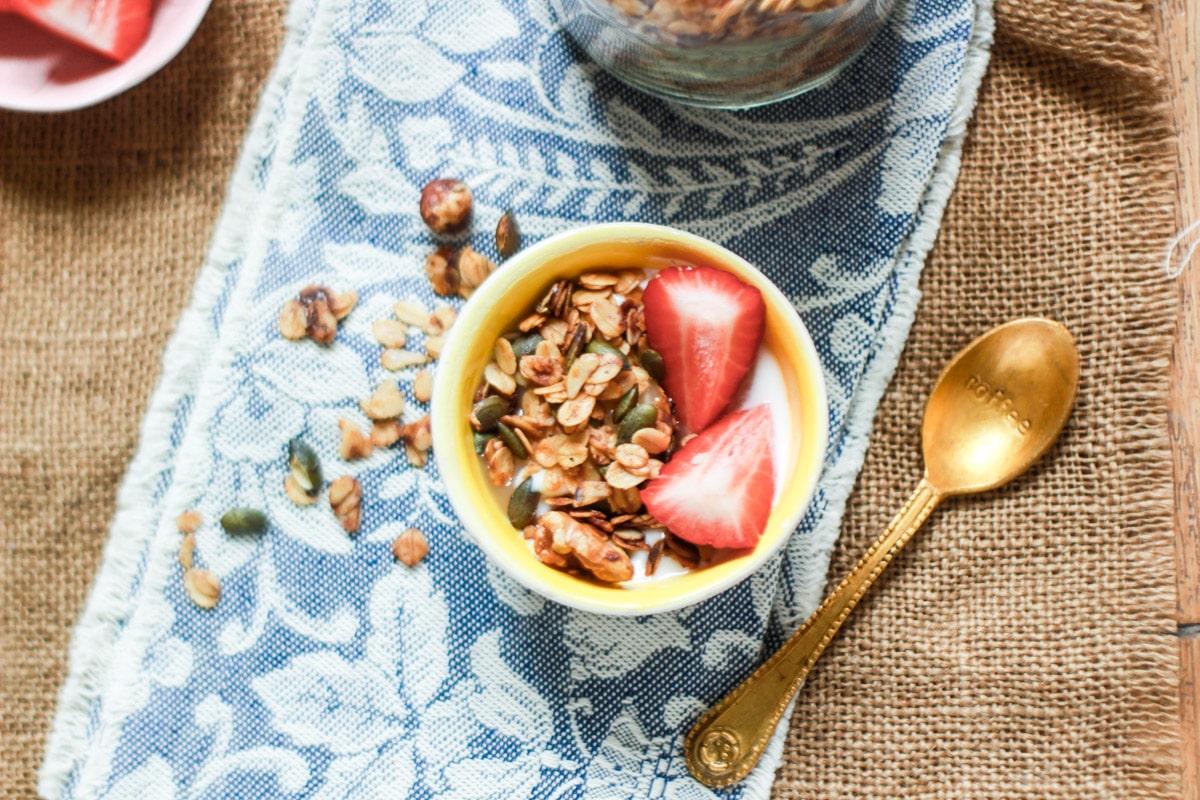 granola fatta in casa ricetta